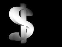 Signe d'argent illustration de vecteur