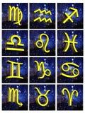 Signe d'astrologie de Vierge Image stock