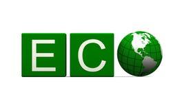 Signe d'Eco Photo libre de droits