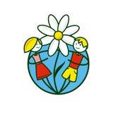 Signe d'enfance de vecteur Illustration de Vecteur