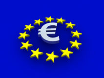 Signe d'Europa Photo stock
