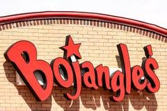 Signe d'extérieur du ` s de Bojangle Image libre de droits