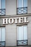 Signe d'hôtel Image stock