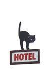 Signe d'hôtel Photographie stock libre de droits