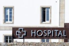 Signe d'hôpital Photographie stock libre de droits