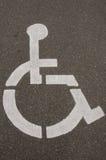 Signe d'handicap Images libres de droits