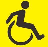 Signe d'handicap Photos libres de droits