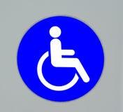 Signe d'handicap Photographie stock libre de droits