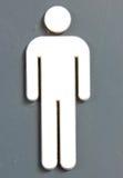 Signe d'homme Photos libres de droits