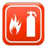 Signe d'incendie, vecteur illustration stock