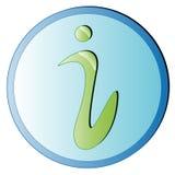 signe d'ipoint de l'information Images libres de droits