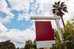 Signe de bail pour la propriété à la maison Photos libres de droits