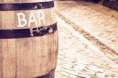 Signe de bar Images libres de droits