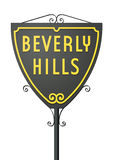 Signe de Beverly Hills Photographie stock