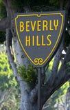 Signe de Beverly Hills photos stock