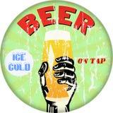 signe de bière, illustration Photographie stock libre de droits