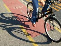 Signe de bicyclette Photo stock