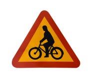 Signe de bicyclette Image libre de droits