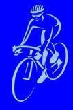 Signe de bicyclette Photos stock