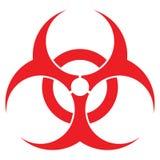 Signe de Biohazard Photo libre de droits