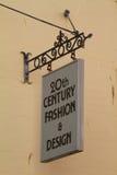 Signe de boutique Image stock