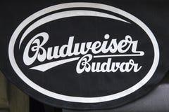 Signe de Budweiser Budvar photos libres de droits