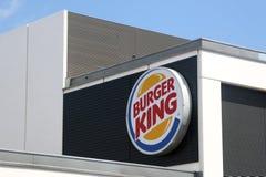 Signe de Burger King image stock