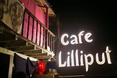 Signe de café Photographie stock libre de droits