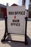 Signe de caisse Image stock