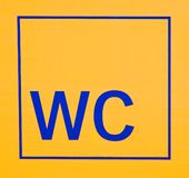 Signe de carte de travail Photos libres de droits