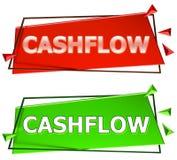 Signe de cash flow Photo libre de droits