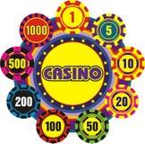 Signe de casino   illustration stock
