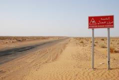 Signe de chameau photographie stock libre de droits