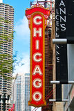 Signe de Chicago Photographie stock