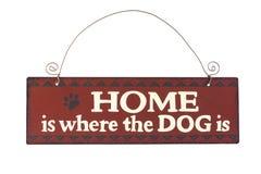 Signe de chien Photo stock