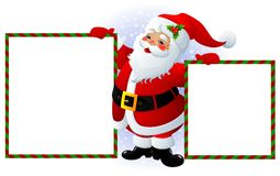 signe de Claus Santa Photo stock