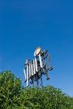 Signe de club de l'espace Image stock