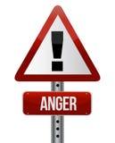 Signe de colère illustration libre de droits