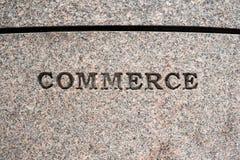 Signe de commerce Photo stock