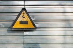 Signe de construction Images libres de droits