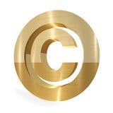 Signe de copyright Images libres de droits