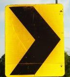 Signe de courbe images stock