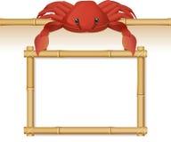 Signe de crabe Photos stock