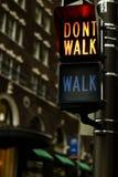 Signe de croisement Photo libre de droits