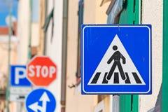 Signe de croisement Image libre de droits