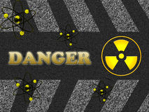 Signe de danger Images stock