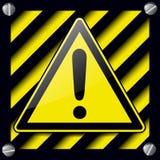 Signe de danger d'exclamation illustration de vecteur
