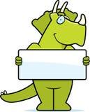 Signe de dinosaur Photos libres de droits