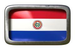 Signe de drapeau du Paraguay illustration libre de droits
