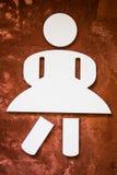 Signe de femme Image stock